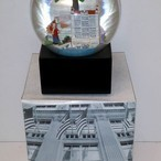 Saks Fifth Avenue SARASOTA Florida Landmark Musical Snow Globe Ringling Brother