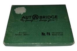 VINTAGE AUTO BRIDGE NO. PA DELUXE POCKET MODEL GAME 1957 - $21.83
