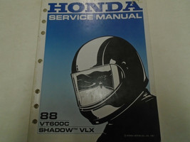 1988 Honda VT600C VLX Shadow Service Repair Shop Manual Factory OEM Book... - $30.09