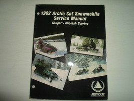 1992 Arctic Cat Cougar Cheetah Touring Service Repair Shop Manual WATER ... - $15.31