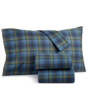Martha Stewart Collection Markham Cotton 3-Pc. Plaid Flannel Twin Sheet Set - $59.99