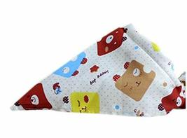 PANDA SUPERSTORE 2 Pieces of Fashionable Cute Pets Triangle Scarves/Headscarf, E