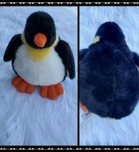 Unipak Plush Penguin Stuffed Bird Animal 13 Inch Black Soft Gift Toy - $14.96