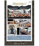 Kimberbell KD526 Welcome Autumn - Bench Pillow (ME) - $24.70