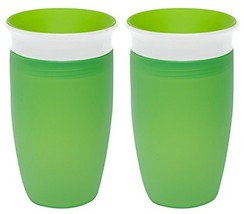 Munchkin Miracle 360 Sippy Cup, Green, 10 Ounce, 2 Count - $15.51