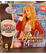 NEW Disney Mattel DVD game Hannah Montana Encore Edition(rockin' scaveng... - $9.49