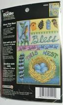 Bird Cross Stitch Kit Birds/Nest/Feathers/Birdhouse Nature/Animals 45524... - $9.04