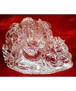 Ganesha Idol In Pure Sphatik / Lord Ganesha In Quartz Crystal - 565 gm - $999.00