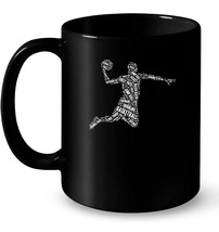 Basketball Player The Ball Is Life Novelty Apparel Ceramic Mug - ₹995.07 INR+