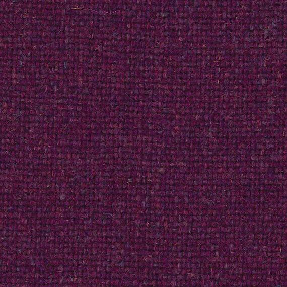Camira Upholstery Fabric Main Line Flax Euston Purple Wool 1.5 yds MLF04 DN