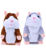 Adorable Interesting Plush Kids Toys Talking Record Hamster in Your Lang... - $14.99
