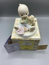 Precious Moments Sharing Sweet Moments Together #526487 Boy Puppy Candy ... - $12.86