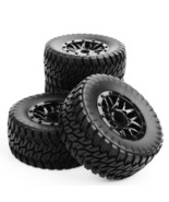 4X 1:10 RC Short Course Truck 17mm Hex Tires Wh... - $22.99