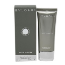 BVLGARI POUR HOMME AFTER SHAVE BALM 100 ML/3.4 FL.OZ. NIB-BV10035715 - $37.13
