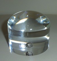 STEUBEN GLASS Bottom of Pillar Bowl (Can Be Used as a Paperweight) - $79.00