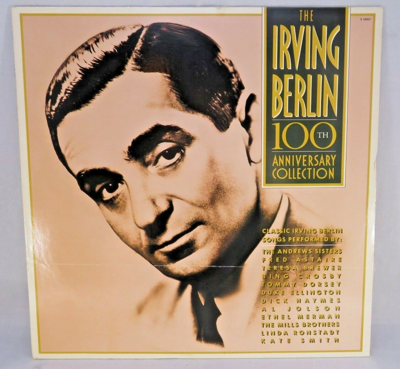 Primary image for Irving Berlin 100th Anniversary Collection LP NM Vinyl Fred Astaire Puttin Ritz