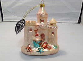NEW Department 56 by Enesco Mutli-Color Shiny Sand Castle Ornament  - $34.99