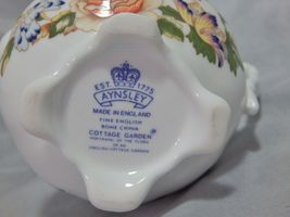 Aynsley England Cottage Garden Small Creamer image 5