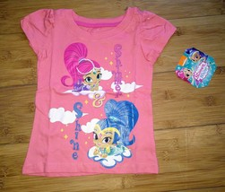 Shimmer & Shine Magic Carpet Ride Glitter Shirt Toddler Girls Tee Tshirt... - $7.87