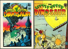 Little Green Dinosaur #1 & 2, Last Gasp, 1972-3  vintage Underground Com... - $18.95