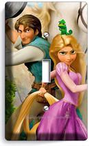 Rapunzel Flynn Tangled Movie 1 Gang Light Switch Cover Girl Play Room Home Decor - $8.09