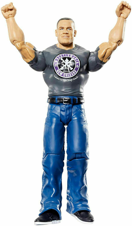 WWE WrestleMania John Cena Action Figure WWE WRESTLING 2018 Mattel NEW