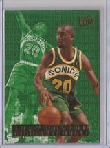 1995-96 Fleer Ultra #7 Gary Payton Double Trouble Basketball Card - $3.75