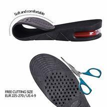 4-Layer Unisex Height High Increase Shoe Insoles Lifts for Men Women Shoe Pad Li image 5