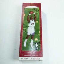 Hallmark Keepsake Nba Karl Malone Handcrafted Hoop Stars Series 2000 - $10.88