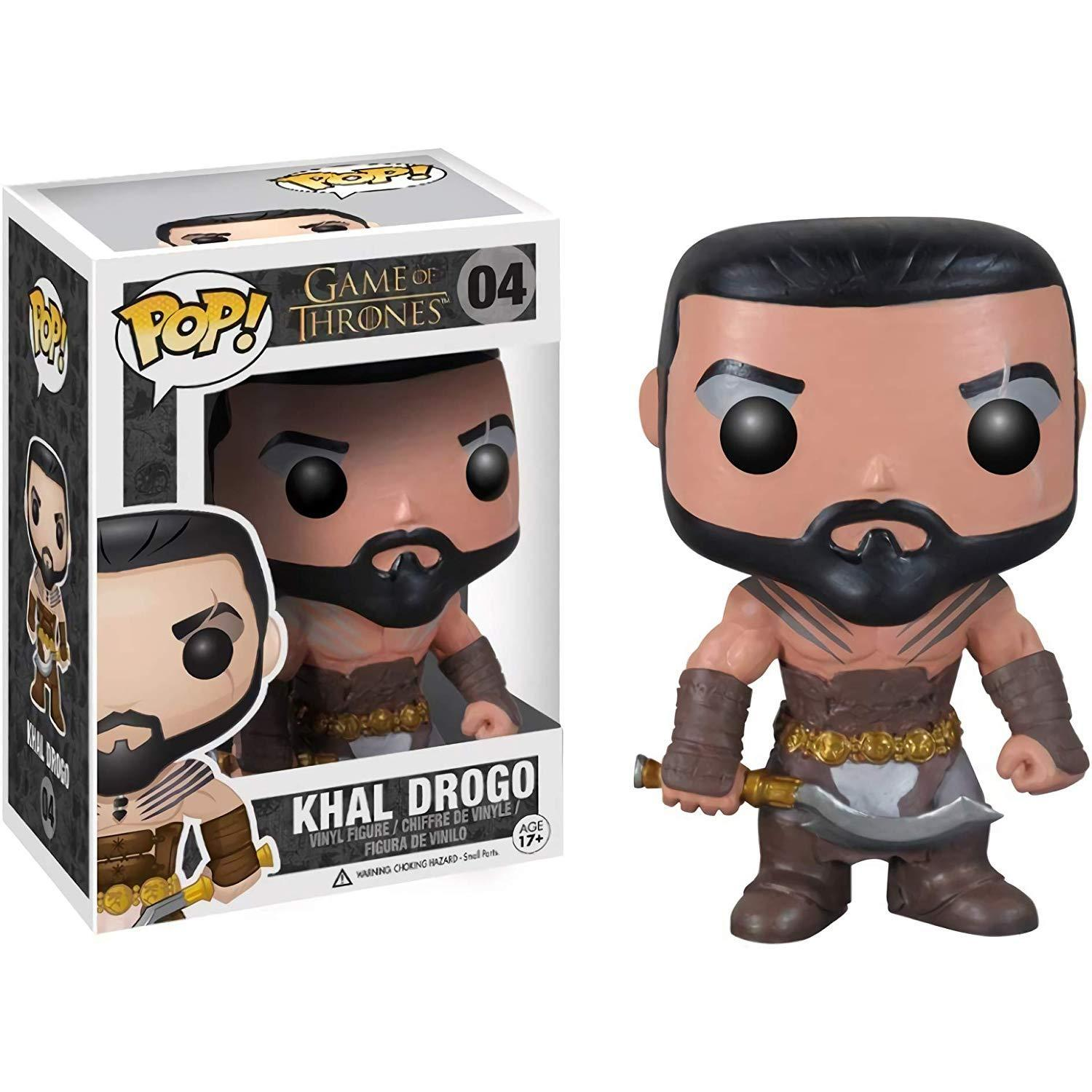 Official Funko pop Game of Thrones - Khal Drogo Vinyl Action Figure Collectible