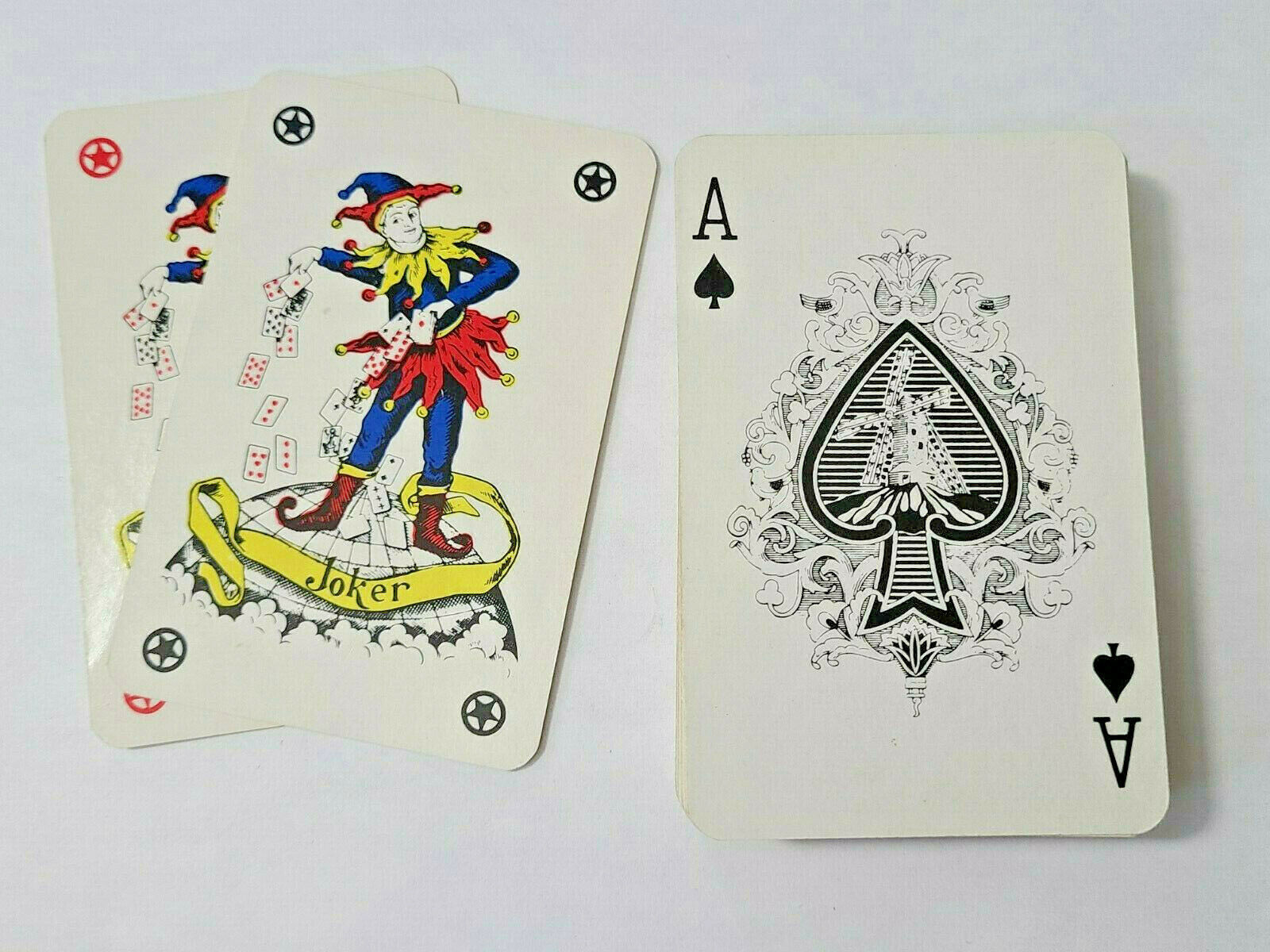 Red Bicycle Rider Back Deck of Playing Cards   (#41)
