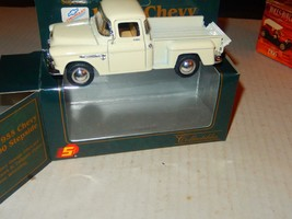 VINTAGE DIECAST- -'SUPERIOR COLLECTIBLES'- 1955 CHEVY STEPSIDE- BOXED- N... - $7.34