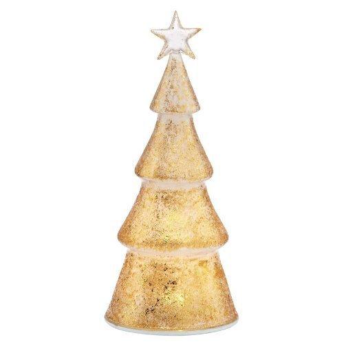 Lenox Christmas Glisten & Gold Lighted Tree Figurine