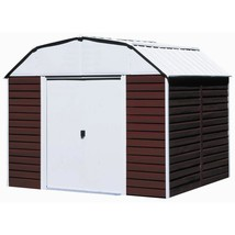 Metal Storage Shed Barn 10 x 14 Lockable Double Latch Door Outdoor Garde... - $745.62