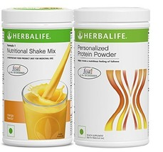 Herbalife Formula1 Mango 500gm Personalized Protein Powder 400Gm Weight ... - $56.99