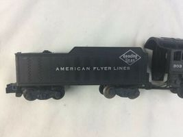 American Flyer Train Locomotive and Tender #303 Reading Lines AS IS For Parts image 9