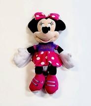 "Disney 2015 Minnie Mouse 25"" Large Plush Stuffed Animal Doll Toy Polka Dot Dress - $19.02"