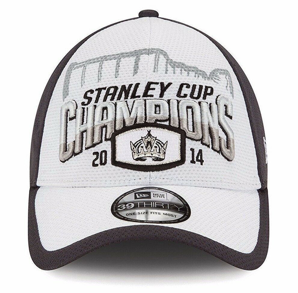 NHL Los Angeles Kings 2014 Stanley Cup Championship Locker Room Cap New Era Hat