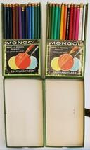 8 Vintage Eberhard Faber Mongol Paint With Pencils Colored Art Pencils No 742