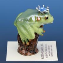 Birthstone Tree Frog Prince March Aquamarine Miniatures by Hagen-Renaker image 2