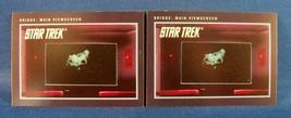 2 1991 Impel Star Trek Trading Card #239 Bridge : Main Viewscreen - $0.98