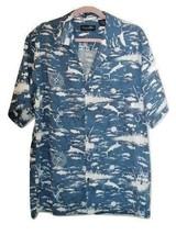 Newport Blue Island Brand Mens XL Hawaiian Button Up Shirt Size XL - $28.99