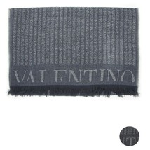Men Scarf wool stripes VALENTINO Striped 0514 - £82.37 GBP
