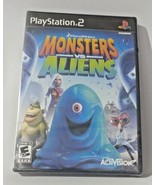 Monsters vs. Aliens (Sony PlayStation 2, 2009) - $12.99