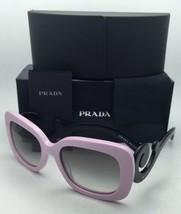 Nuevo Prada Gafas de Sol Spr 27o Pdp-0a7 54-19 Rosa y Negro con / Gris Degradado