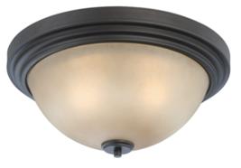 """Nuvo Lighting N604132 """"Harmony"""" Flush Mount Ceiling Lighta Dark Chocolat... - $44.50"""