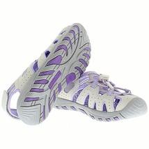 Brand New Khombu Kids Athletic Active Girls Purple Sandals image 2