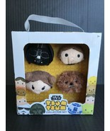 Star Wars Tsum Tsum Collector Set Darth Vader, Han Solo, Leia, Chewbacca... - $9.99