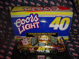 COORS LIGHT 1/24 STERLING MARLIN 1/1998 GOLD EDITION FREE USA SHIPPING - $28.04