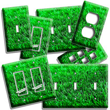 HEALTHY GREEN GRASS LAWN LIGHT SWITCH OUTLET WALL PLATE HOUSE ROOM HOME ... - $10.99+